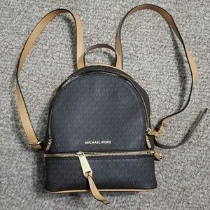 MK signature backpack. Excellent condition